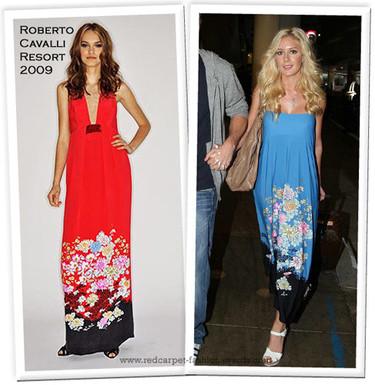 ¡Quiero el vestido de Cavalli de Heidi Montag!