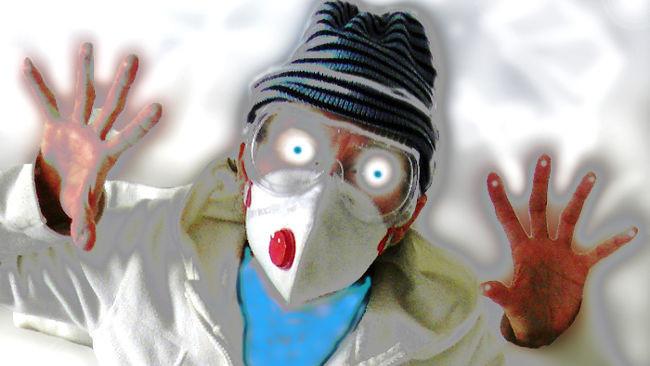 Máscara antivirus