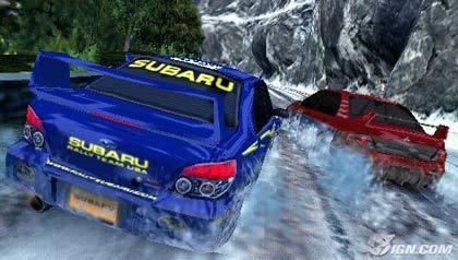 Capturas de pantalla de SEGA Rally Revo para PSP