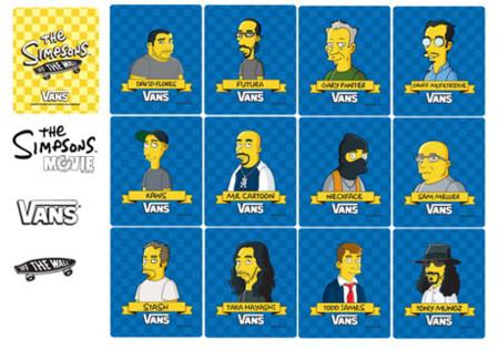 Vans de Los Simpsons