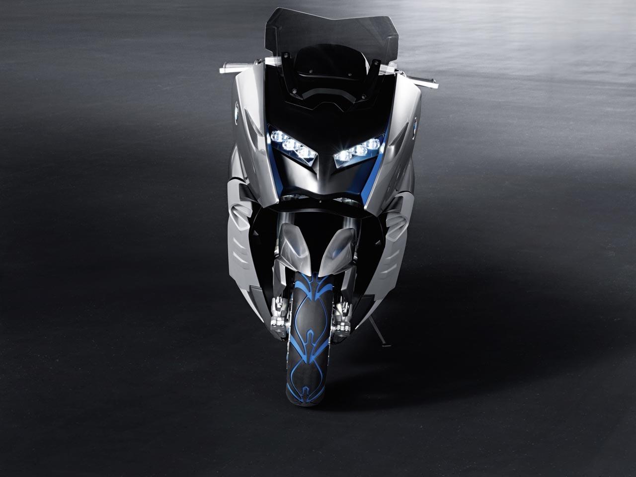Foto de BMW Concept C Scooter, el Scooter del futuro según BMW (5/19)