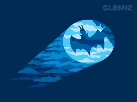 Camiseta de Batman gamberrada
