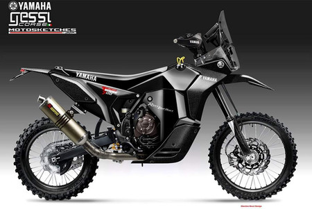 Yamaha Tenere Rally Racer Gessi Moto Oberdan Bezzi Design