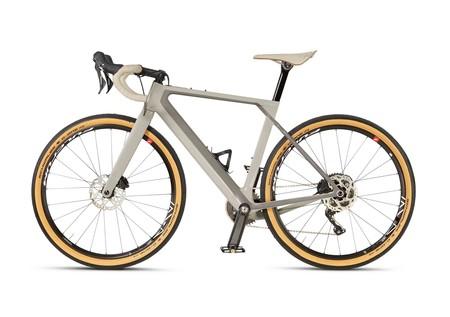 Bicicleta Gris Bmw