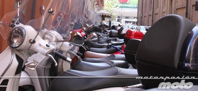 Scooter en Roma