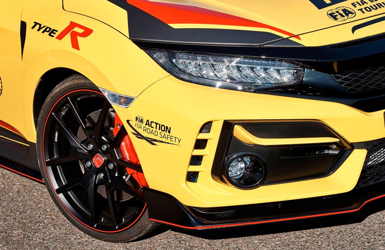Foto de Honda Civic Type R Limited Edition Safety Car WTCR 2020 (5/9)
