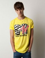 Camisetas de la MTV en Pull and Bear