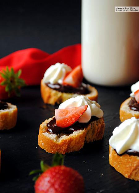 Merienda de pan con chocolate: receta de toda la vida con vuelta de tuerca