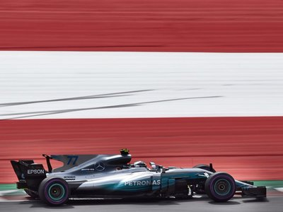Valtteri Bottas se impone a Sebastian Vettel en la clasificación del Gran Premio de Austria de F1