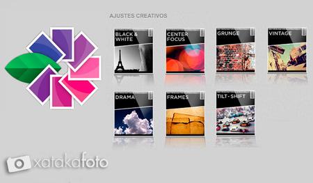 Snapseed flujo de trabajo creativo