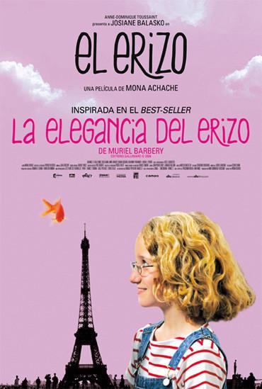 'El erizo', adaptación de 'La elegancia del erizo', carteles y tráiler