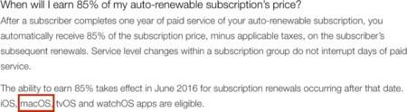 """Pocas dudas quedan: a Apple se le vuelven a escapar menciones a un """"macOS"""" en su web oficial"""
