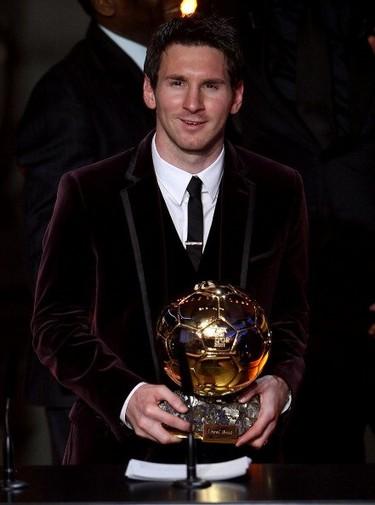 Gala del Balón de Oro 2011: terciopelo, goles y Leo Messi