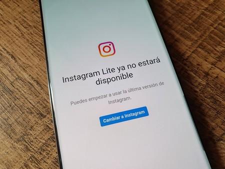 Instagram Lite Mexico Descontinuado Sin Soporte