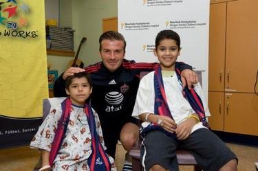 Quién fuese hijo de los Beckham y cumpliese años...