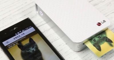 ¿Una impresora que se puede llevar en el bolsillo? Así es la nueva LG Pocket Photo