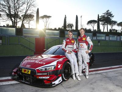 Audi RS 5 DTM, de la pasarela del Auto Show de Ginebra a la pista italiana de Vallelunga