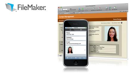 FileMaker, nuevos kits de productividad y adaptación para iPhone