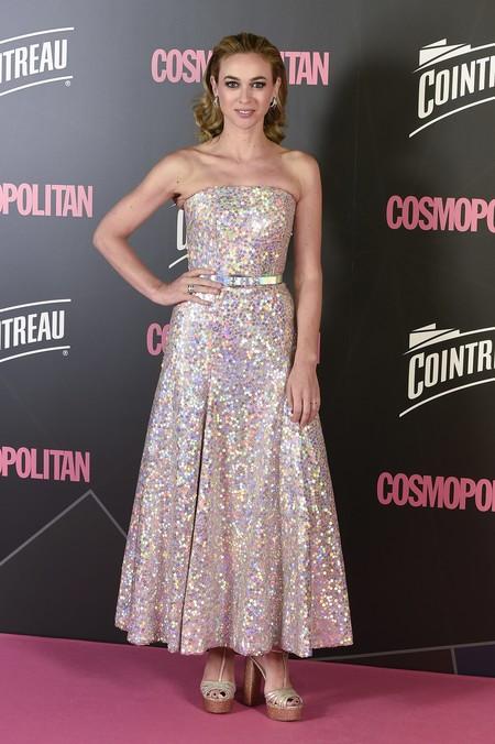 premios cosmopolitan 2017 alfombra roja look estilismo outfit Marta Hazas