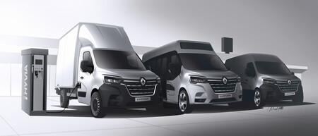 Europa tendrá este año tres nuevas furgonetas de hidrógeno de Renault, con autonomías de hasta 500 km