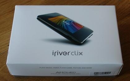 Un vistazo al iriver Clix