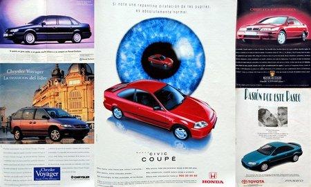 Publicidad de coches de 1996