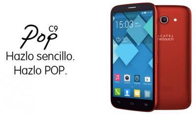 Alcatel Pop C9, precio y disponibilidad en México con Telcel
