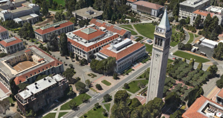 Berkeley en los Mapas de Apple