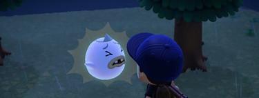 Guía Animal Crossing New Horizons: cómo encontrar al fantasma Buh, buscar volutas de esencia y qué regalo escoger