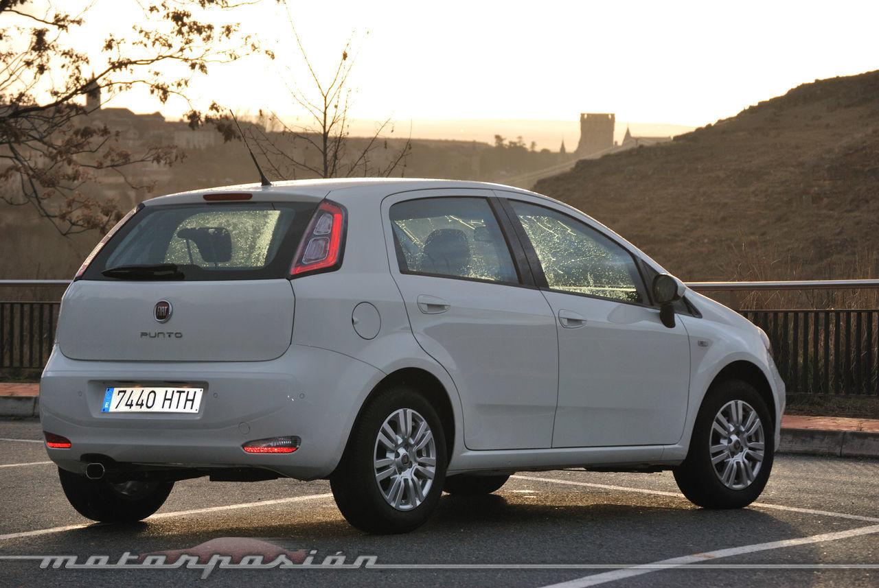 Foto de Fiat Punto 1.4 GLP (prueba) (31/70)