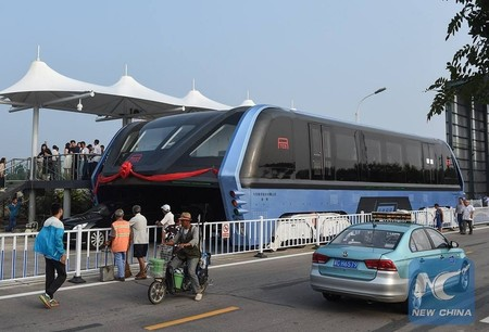 ¿Recuerdas el autobús elevado chino (TEB)? Si no, no importa, fue un fraude