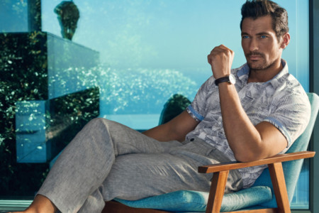 David Gandy Marks And Spencer Spring Summer 2016 Campaign 010