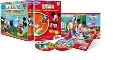 """Coleccionable de """"Juega y Aprende con Mickey"""""""