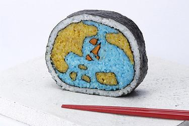 Sushi ilustrado por Tama-Chan