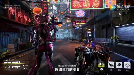 Tencent también quiere su Cyberpunk, un FPS de mundo abierto llamado SYN que se muestra en su primer vídeo