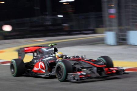 GP de Singapur de Fórmula 1. Lewis Hamilton critica la doble chicane de Marina Bay