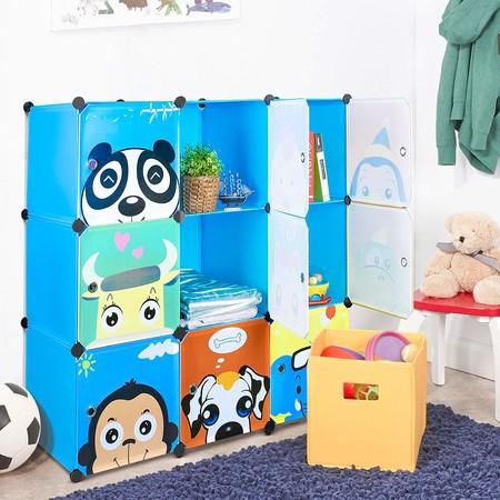 muebles de almacenaje de habitación infantil