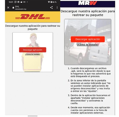 Sms Dhl Scam