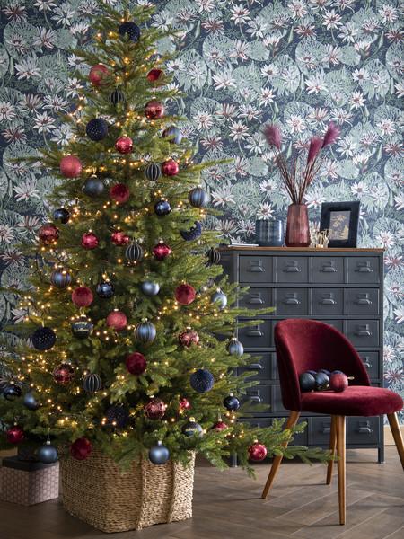 del Navidad Tendencias la árbol de cubrir base para E2IWYeH9D