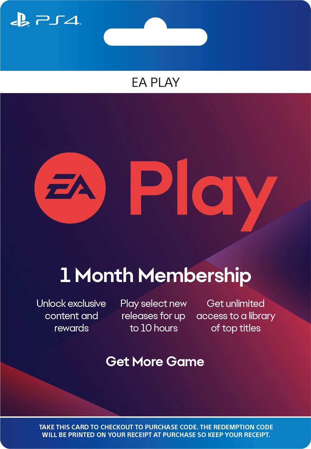 Suscripción de 12 meses de EA Play