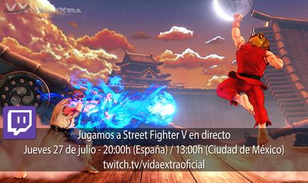 Jugamos en directo a Street Fighter V a las 20.00h (las 13.00h en Ciudad de México) [Finalizado]