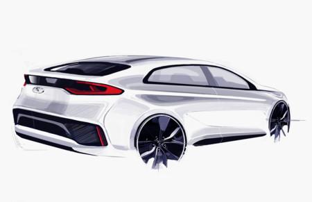 El diseño del Hyundai IONIQ, en bocetos, promete mucho