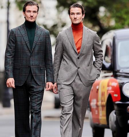 El Mejor Street Style De La Semana London Fashion Week Mens Trendencias Hombre 07