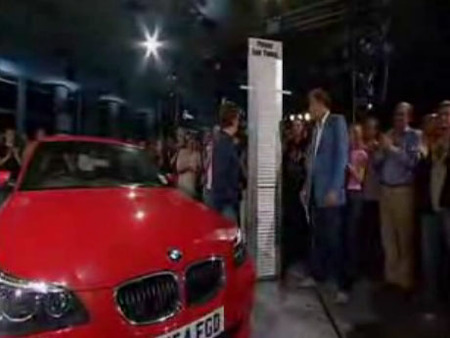 BMW 535d en Top Gear