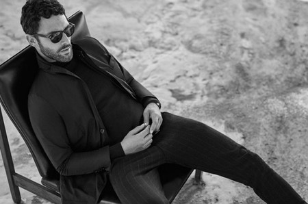 Noah Mills Massimo Dutti Fall Winter 2016 Eveningwear Lookbook 001