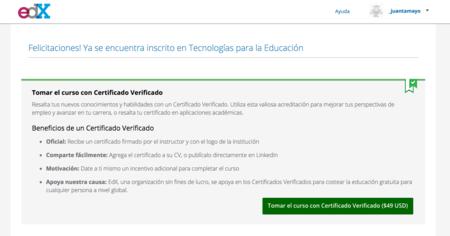 edx, certificado