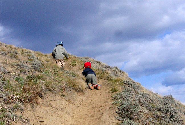 Seguridad en la montaña con niños 1