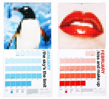 Calendario PANTONE para un 2013 a todo color
