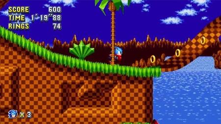 Sonic Mania nos muestran algunos cambios en Green Hill Zone