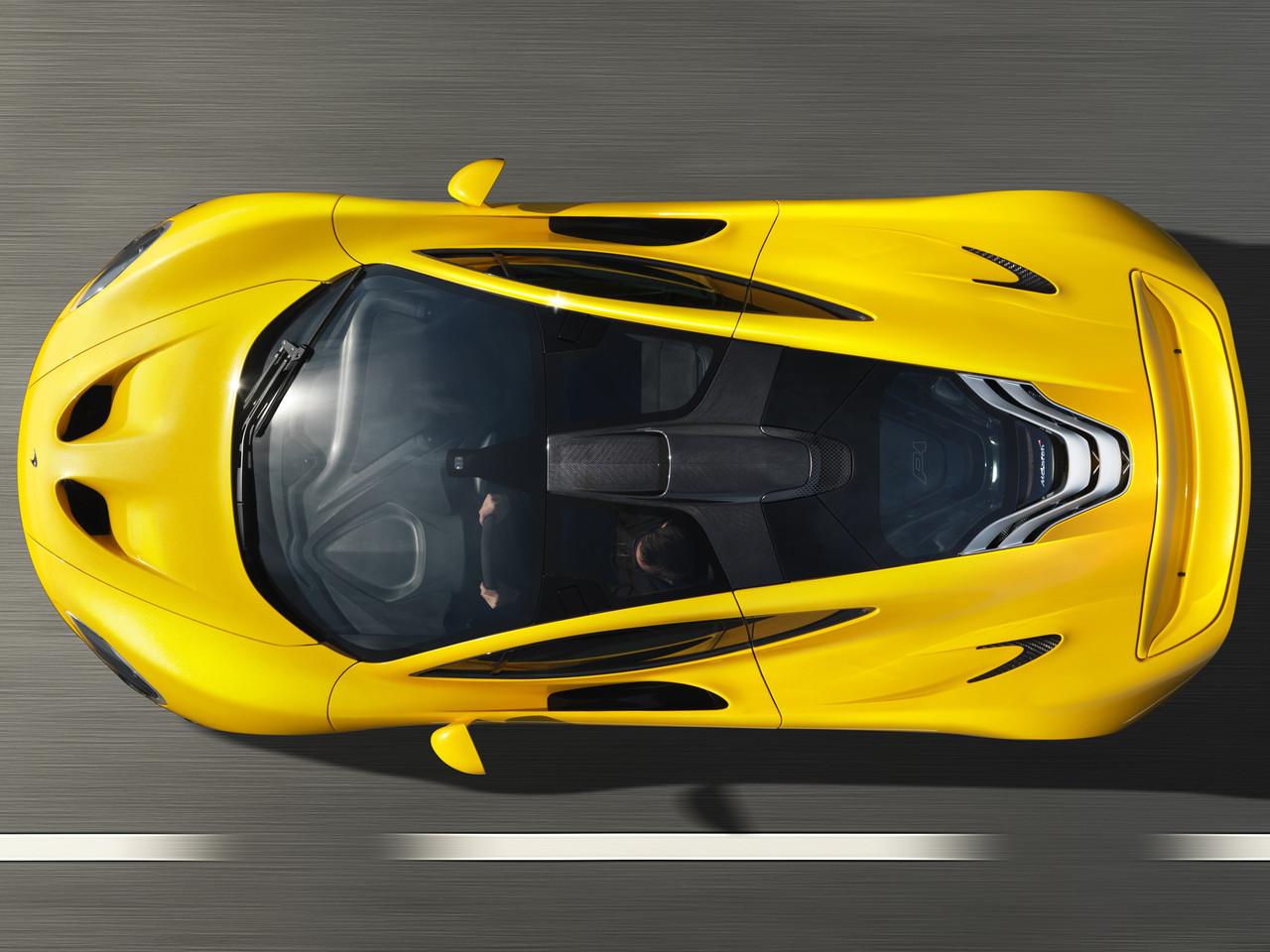 Foto de McLaren P1 amarillo (2/9)